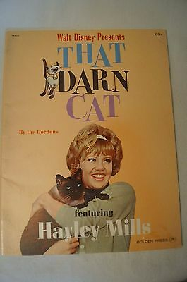 Collectable - Rare - Vintage Movie Programme - Disney's - That Darn Cat.