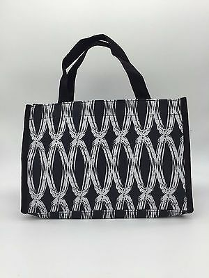 NEW Thirty one all in mini tote utility bag Organizer purse 31 gift black links
