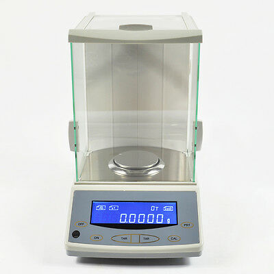 Lab Analytical Balance 200 / 0.0001g 0.1mg Digital Precision Scale Top Quality