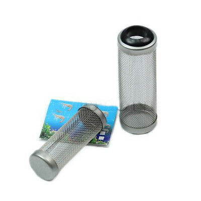 Stainless Steel Mesh Aquarium Filter Intake Safe Guard Fish Shrimp Protector hot