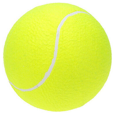 "9.5"" Oversize Giant Tennis Ball for Children Adult Pet Fun BT T7G6"