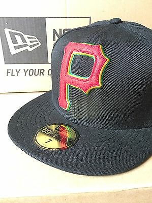buy online a586b 51330 BNWT New Era Pittsburgh Pirates 59FIFTY Fitted Caps MLB Baseball Cap