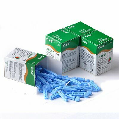 200PCS 28G Sterile Lancets home Glucose Testing Monitor Test Diabetes