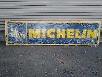 Vintage Michelin Tire Sign Never Displayed