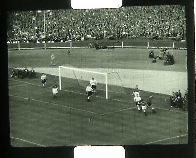9.5mm PATHESCOPE FILM -THE 1956 FA CUP FINAL. MANCHESTER 3 BIRMINGHAM 1 FOOTBALL