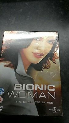 Bionic Woman The Complete Series NEW SEALED DVD Box Set