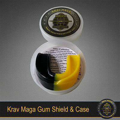 KRAV MAGA PRO GUM SHIELD & CASE (MOUTH GUARD) - Protection for jaw and teeth!