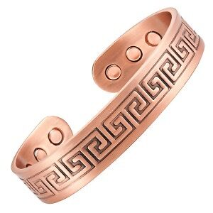 Bracelet Cuivre Curry Inca 6 Aimants