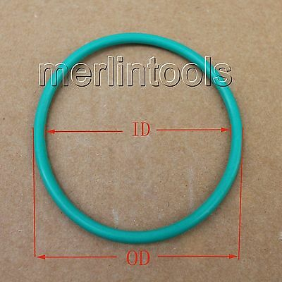 3.55mm Section Select ID from 205mm to 400mm Fluororubber  O-Ring gaskets
