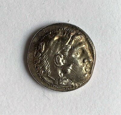 Alexander III the Great AR Drachm - Sardes 323-319 BC - about EF