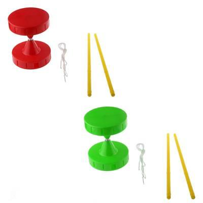 Small Whistle Diabolo Juggling Spinning Toy Set with Handsticks & Strings