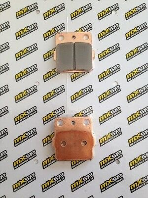 New Yamaha Yz85 Rear Brake Pads Sinter Compound 2002-2017