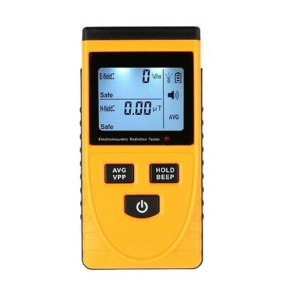 GM3120 Digital Electromagnetic Radiation Detector Meter Dosimeter Tester BT L0G5