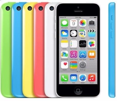 Apple iPhone 5C 8GB 16GB 32GB UNLOCKED All Colours Tested & Fully Functional