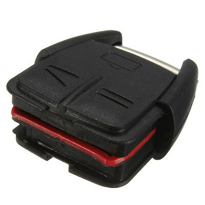 3 Button Remote Key Fob Case DIY Repair Kit For Vauxhall Opel Vectra Omega L6C6