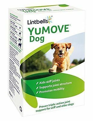 Yumove Dog or Puppy Supplement Tablets 60/120/300 Joint Aids Mobility Lintbells