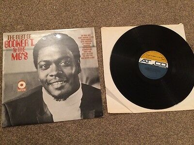 The Best of Booker T & The MG's LP record vinyl EX+/EX