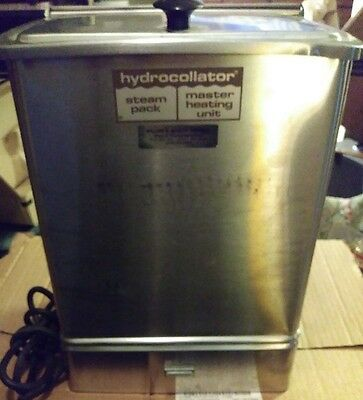 Chattanooga Hydrocollator E-1 Stationary Heating Unit - Working Condition!