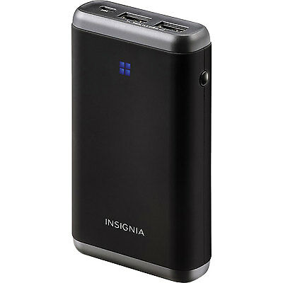 New Insignia Portable Charger w/ USB Port 15600mAh