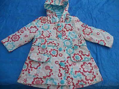 Baby Girls Pumpkin Patch waterproof jacket/raincoat Size 0 for 6-12mths