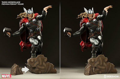 New!! Sideshow Collectibles Modern Thor Premium Format! Worldwide Ship!