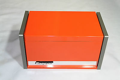 Snap On Electric Orange Mini Micro Top Chest Tool Box Rare Brand New