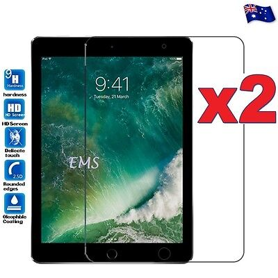 2X Tempered Glass Screen Protector Film for Apple iPad 2 3 4 / 2nd 3rd 4th Gen