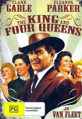 The King And Four Queens ( Clark Gable ) - New Region All