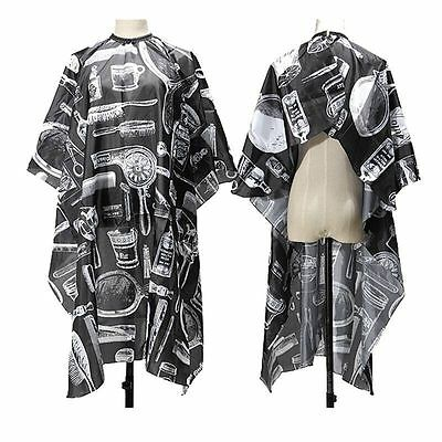 Pro Hair Cutting Cape Salon Hairdressing Hairdresser Gown Barbers Cloth 1.2*1.5m