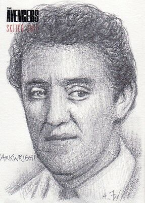 The Avengers Andy Fry / Bernard Cribbins as Arkwright Sketch Card