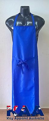 Butchers Apron BLUE Cleaning/Butchers/Deli 105x80cm *MADE IN KINGAROY QLD*