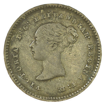 Great Britain, Victoria Maundy Twopence, Silver, 1848