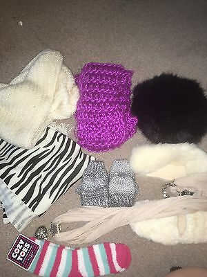 Ladies Hat And Scarf Accessory Bundle