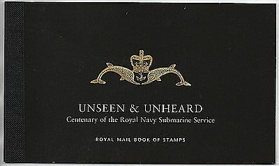 """2001 DX27 """"Unseen & Unheard"""" Royal Mail Prestige Booklet Stamps"""