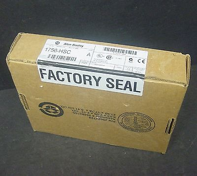 New Sealed 1756-HSC ControlLogix Allen Bradley High Speed Counter Module Ser A