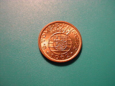 St. Tome & Principe 1962 20-Centavos In Very Nice Uncirculated Condition