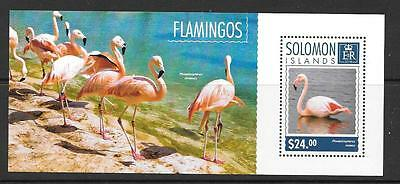 Solomon Islands 2014 Flamingos (2) Mnh