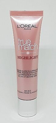 L'Oreal True Match Liquid Illuminator Icy Glow 301R/301C 30ml Loreal