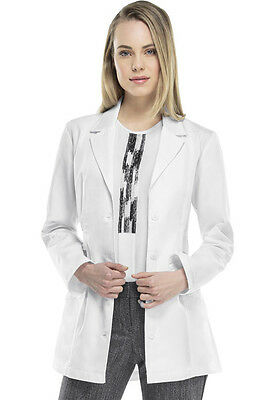 Women's Cherokee Fashion Lab Coat in White Style 2316 FREE SHIPPING!