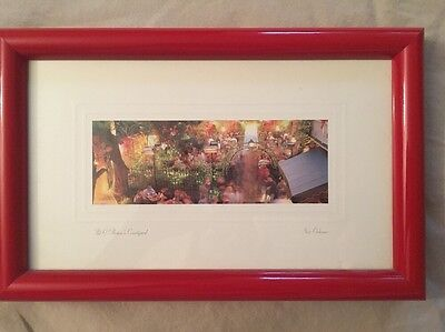 Framed Print Of Pat O'Brien's Courtyard In New Orleans