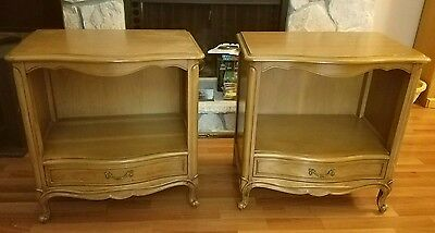 Drexel Touraine nightstands or end tables - 2 night stands