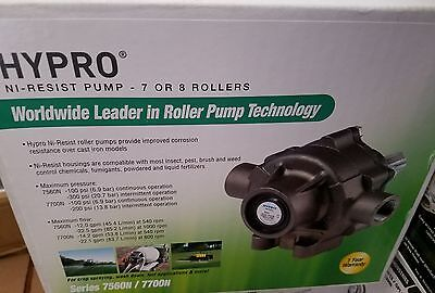 Hypro Pump With Super Rollers And Vinton Seal, 7560N, Nickel