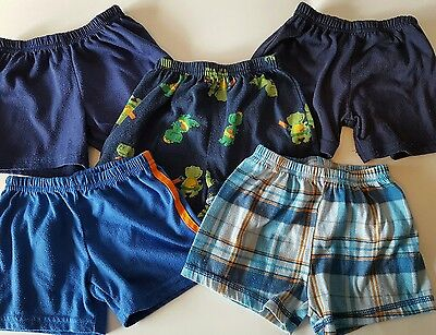5 Carters Infant Boys Pajama Shorts 12 Months