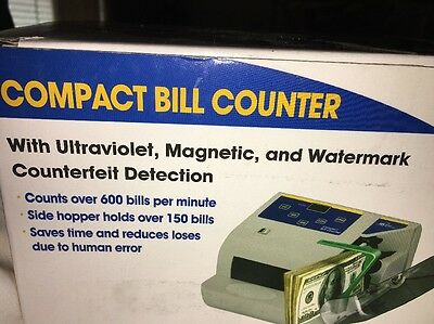 New In Box Royal Sovereign Bill Counter Digital Cash Counter RBC QUICKCOUNT