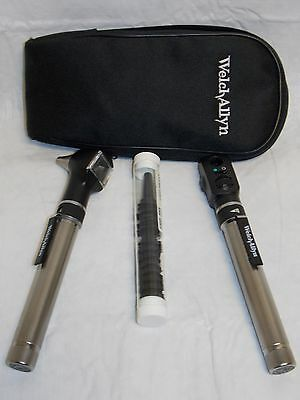 Welch Allyn Pocket Otoscope/Ophthalmoscope Set with case