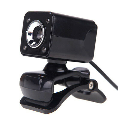 USB 2.0 12 Megapixel HD Camera Web Cam with MIC Clip-on Night Vision 360 De R7D7