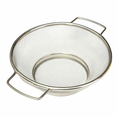 Stainless Steel Fine Mesh Strainer Bowl Drainer Vegetable Sieve Colander Si S7C3