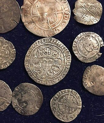 Large collection (10 Coins!) of Medieval UK hammered coins!