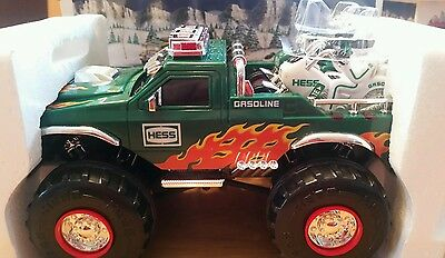 2007 Hess Monster Truck with Motorcycle New w Box