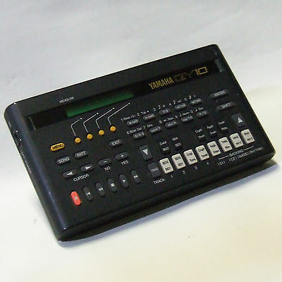 Yamaha QY-10 Portable Music Sequencer From Japan